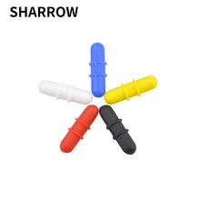 1set Archery Balance Stabilizer Colorful Rubber Damper For Shooting Hunting Compound Bow Accessories Shock Absorber
