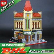 LEPIN 15006 2354pcs Palace Cinema Model Building Blocks Set Bricks Toys Compatible 10232 Toys For