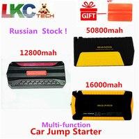 Russian Stock! Emergency 16000mAh Car Jump Starter 600A 12V Starting Device Portable Power Bank Car Starter For Car Battery