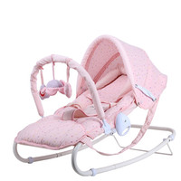 2018 baby rocking chair sit and lie baby infant chair baby infant cradle swing chair gift Baby bed