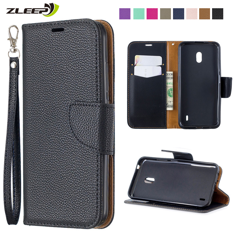 Luxury Leather <font><b>Case</b></font> For <font><b>Nokia</b></font> 2.2 3.2 4.2 Flip Wallet For <font><b>Nokia</b></font> 2.1 3.1 <font><b>5.1</b></font> Card Holders For <font><b>Nokia</b></font> 1 Plus Stand Cover Carcasa image