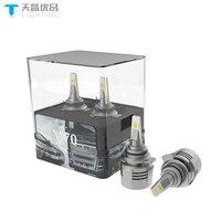 TINSIN M70 9012 led in Car Headlight Bulbs 80W 8000LM 6000K 12V 24V bright Auto Truck Headlamp H11 9005 9006 Automobile Headlamp