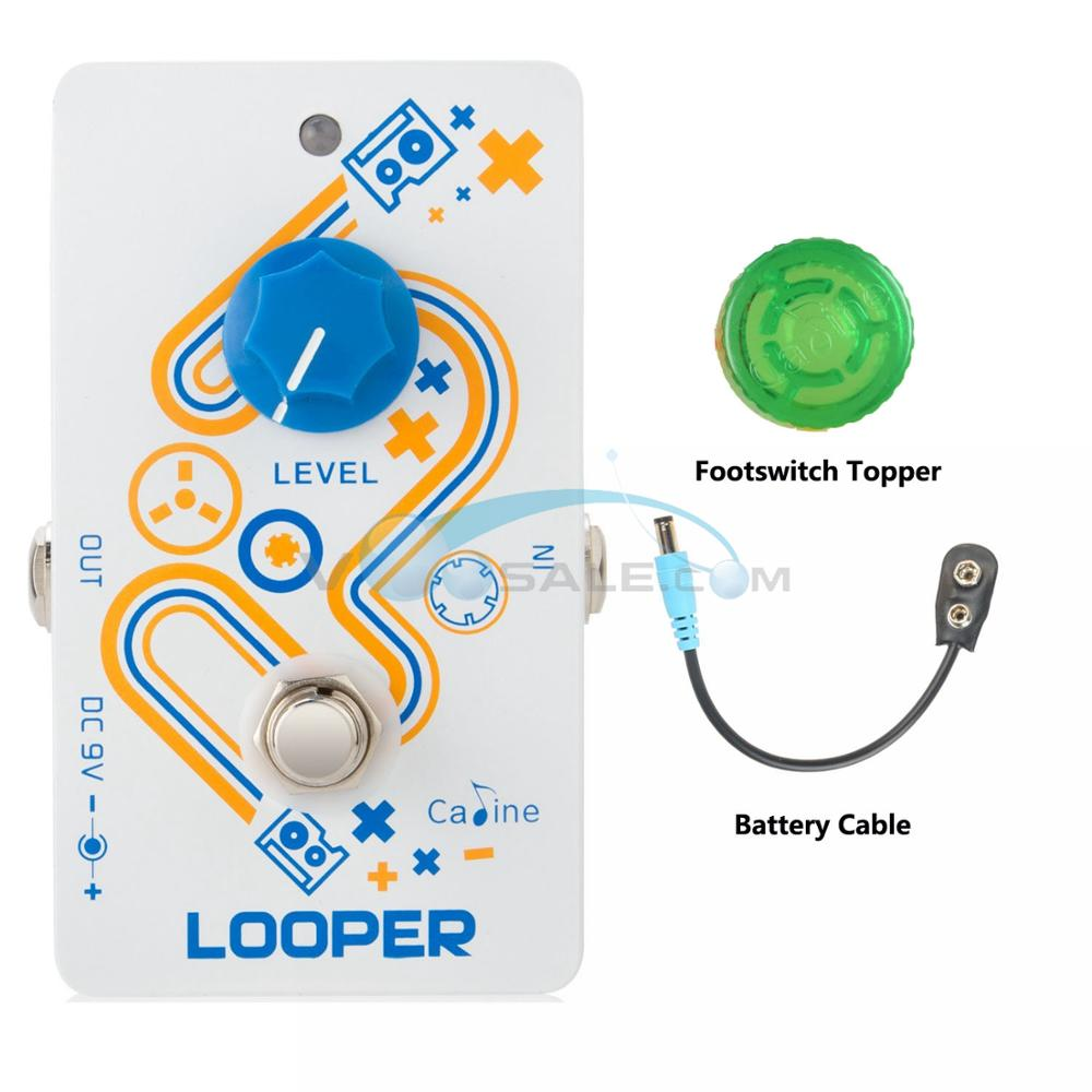 Caline CP 33 Looper Guitar Effect Pedal Guitar Pedal Parts High Quality Recording Looper Pedal Guitar