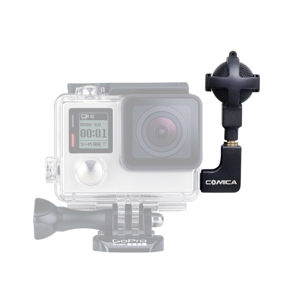 COMICA CVM VG05 Ball shaped Stereo Video Microphone fOR GoPro Hero 3+ 4 5