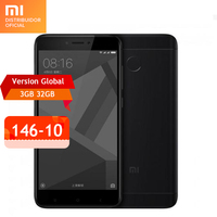 Global versión xiaomi redmi 4x smartphone 3 gb ram 32 gb snapdragon 435 Octa Core CPU Adreno 505 GPU 4100 mAh 13MP Cámara B20 800