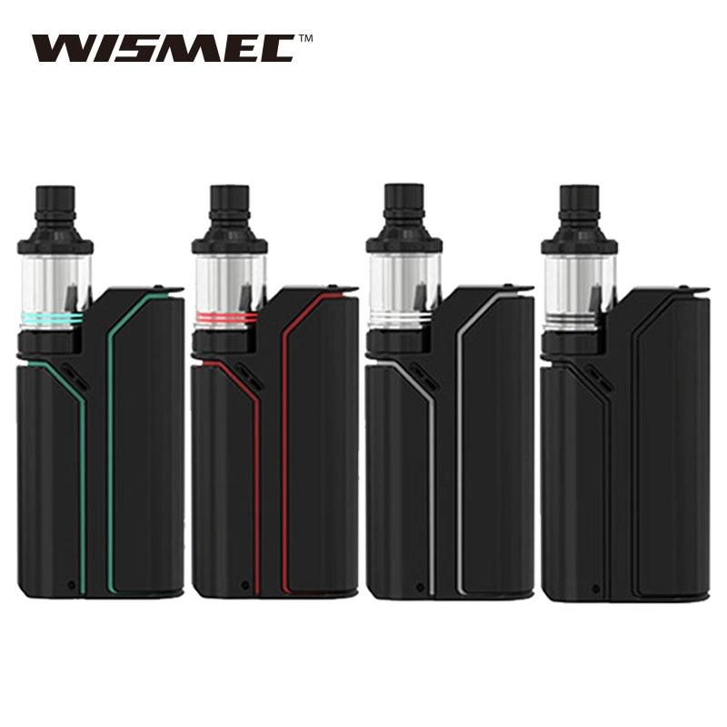 Original Wismec Reuleaux RX75 TC E Cigarette with 75W Temp Control Box Mod and 2ml Amor Mini Atomizer Upgradeable Firmware Kit