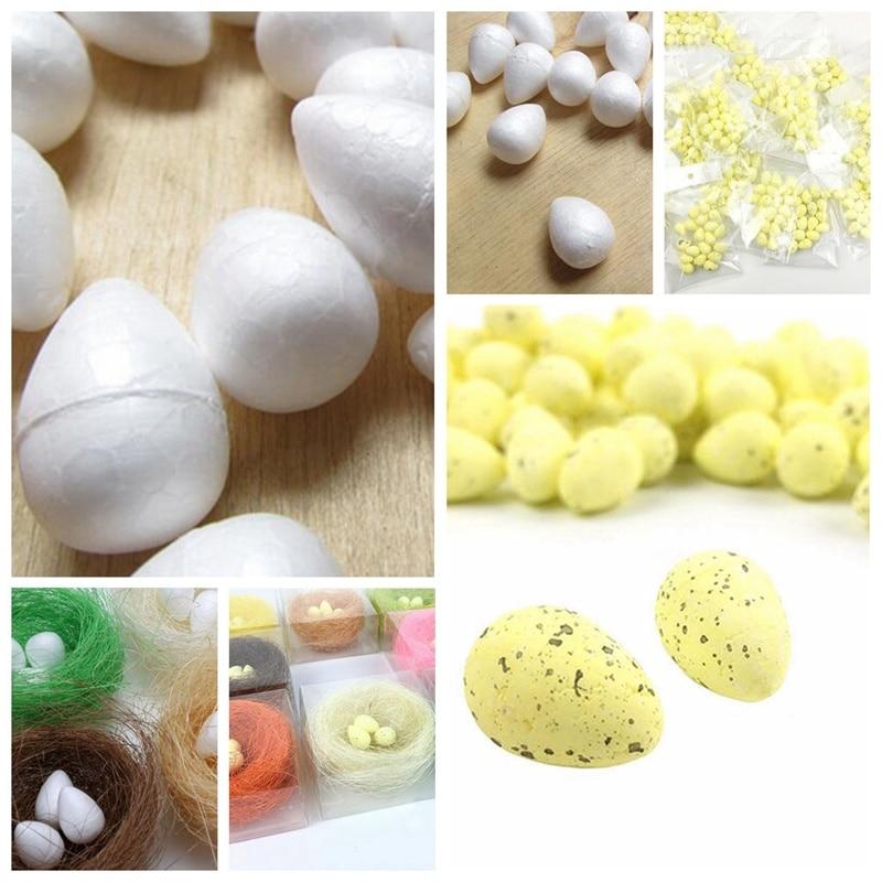 20Pcs/lot 2.5cm mini Foam Quail Egg Artificial PE Egg For Wedding Home Christmas Easter party Decoration Crafts DIY Supplies