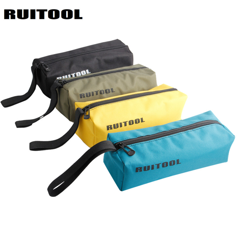 RUITOOL Tool Bag Waterproof Storage Bag Oxford Canvas Bag 240*85*70mm Organizer Multifunctional Electrician Tools 1PC