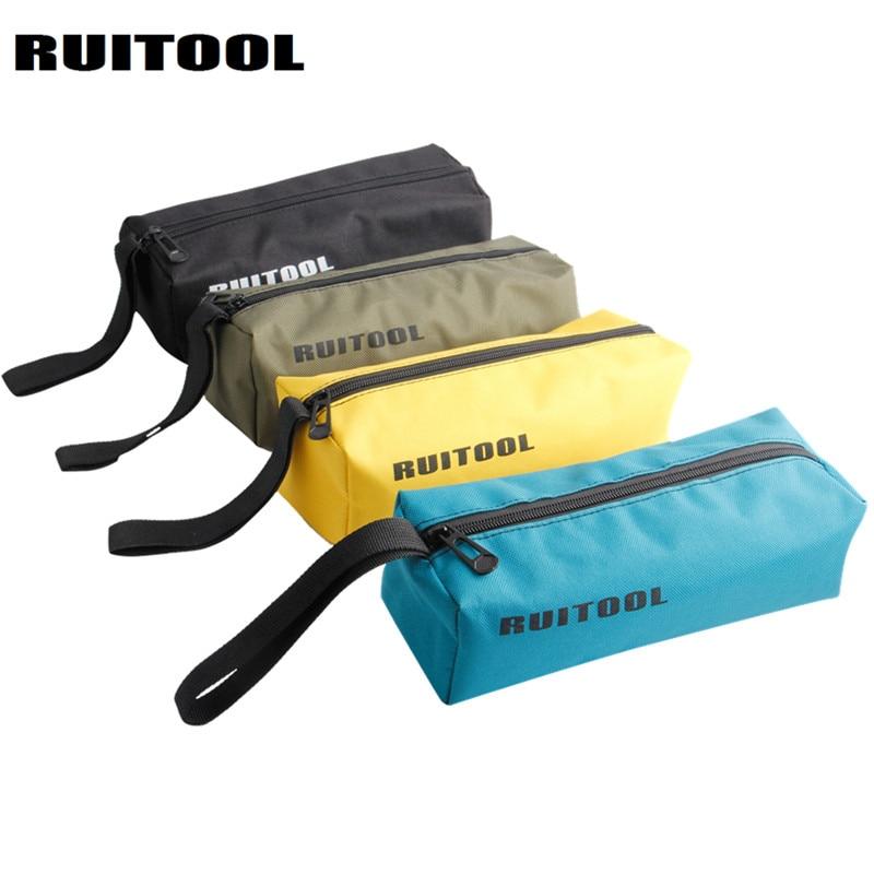 RUITOOL Tool Bag Waterproof Storage Bag Oxford Canvas Bag 240*85*70mm Organizer Multifunctional Electrician Tools 1PC
