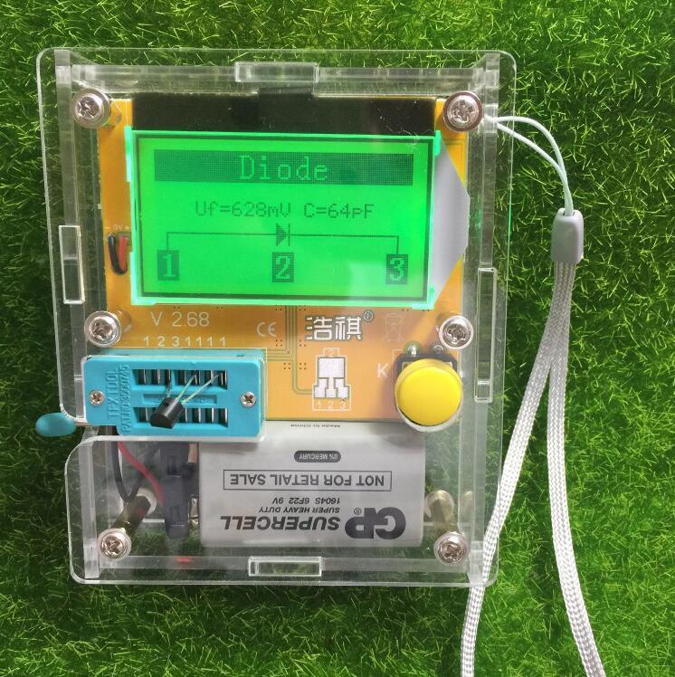 Mega328 Digitale Transistor Tester Diode Triode Kapazität widerstand ...