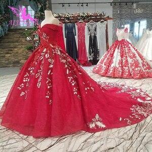 Image 5 - AIJINGYU свадебное платье белые платья дешевые с жемчугом летние Бальные платья дешевые красивые платья отвесное платье