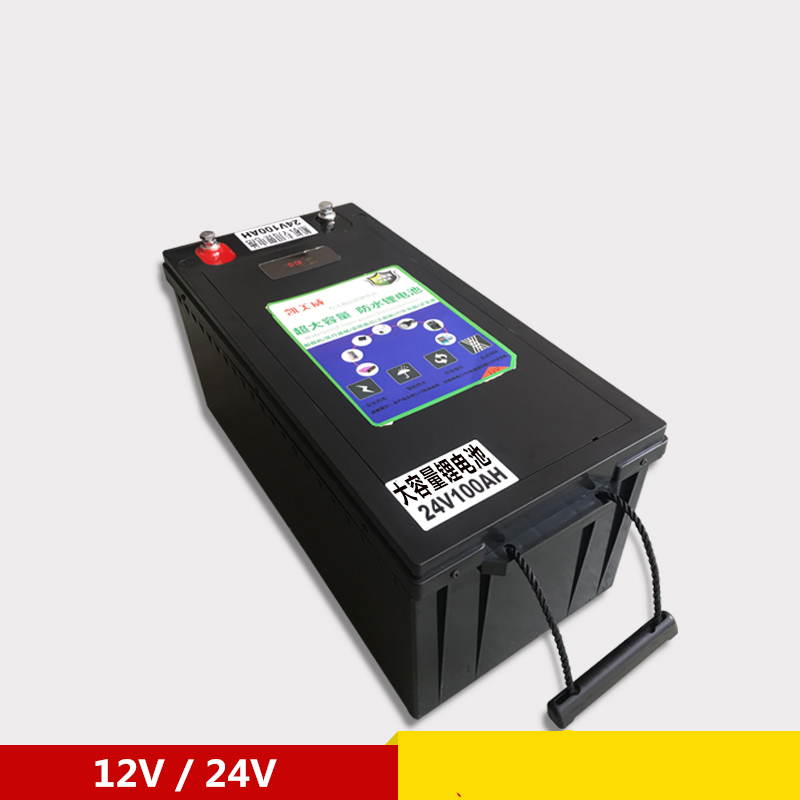Batteries de li-ion de li-polymère de la batterie 12 V 200AH/400AH de moteur de bateau pour des autocaravanes/chargeur portatif de secours extérieur d'énergie solaire - 6