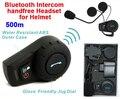 (1 Unidades) 500 Metros A Prueba de agua de La Motocicleta Del Intercomunicador Del Casco de Auriculares Bluetooth Intercom Casco de Los Deportes Kits Marca FDC-01