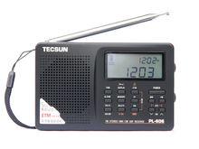 TECSUN PL-606 цифровой PLL Портативный радиоприемник FM стерео/lw/sw/mw DSP приемник Черный