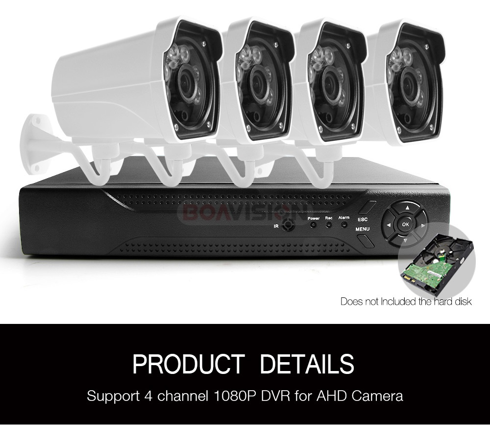 10 4ch ahd camera kit