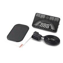 Автомобиль Для Укладки Универсальная Автомобильная Hud Head Up Display 5.8 «ЖК-Дисплей Модель S7 Безопасности Вождения OBD/GPS Hud Дисплей