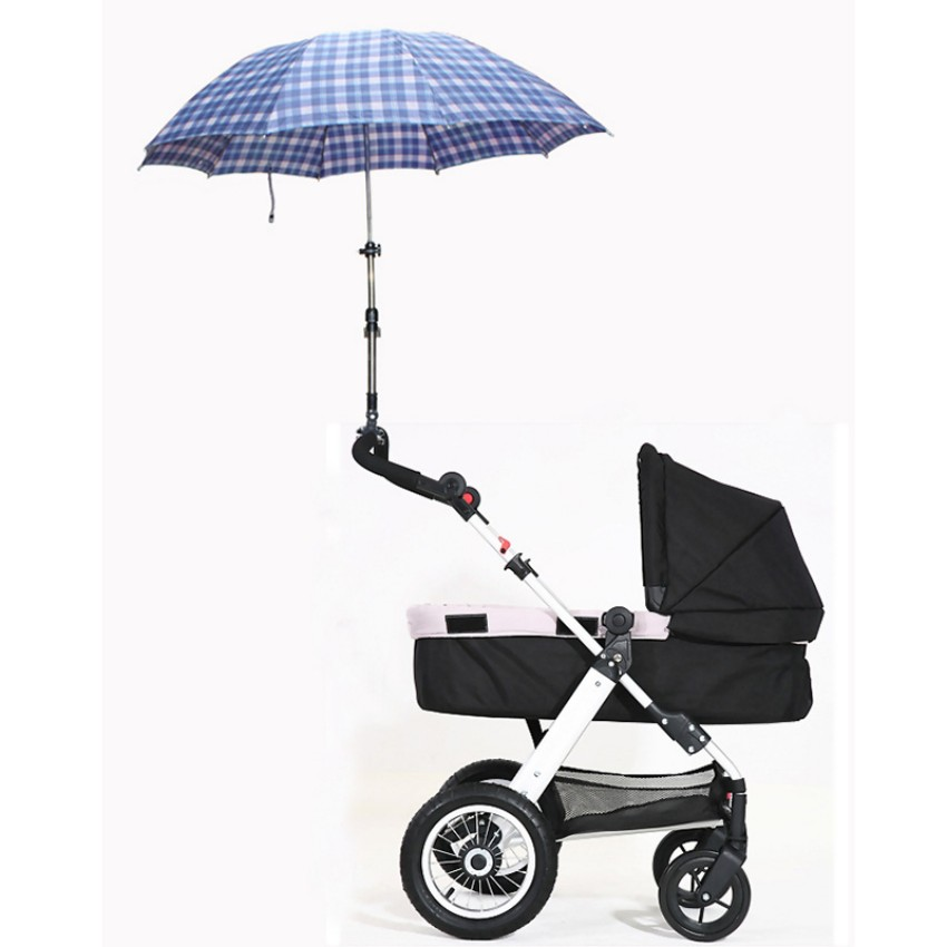 baby Stroller Accessories umbrella holder away from the sunshine and rain easy control no harm install ...