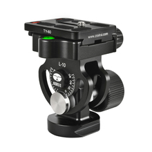 купить Sirui Aluminum Pro Tripod Head Monopod Ball Video Tripod Ball Head with Quick Release Plate for DSLR Camera Tripod Universal L10 дешево