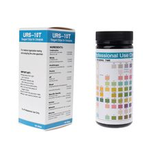 100 Strips URS-10T Urinalysis Reagent Strips 10 Parameters Urine Test Strip Leukocytes Nitrite Urobilinogen Protein pH cheap OOTDTY NONE CN(Origin) Digital 1AA800943