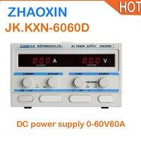 ZHAOXIN KXN 6060D DC стабилизированный источник питания постоянного тока Регулируемый источник питания постоянного тока 0 60V60A мощный цифровой Регу