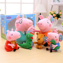 Peppa Pig George 19cm/30cm Dinosaurs and bears Stuffed Animals & Plush Toys  For Kids Girls Baby Party Animal Gifts