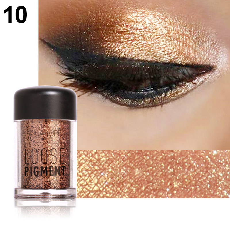 2019 New Style 2019 Multicolor Glitter Eyeshadow Loose Powder Pigment Cosmetics Diamond Loose Lips Eyes Shining Makeup Women Beauty Makeup Beauty Essentials