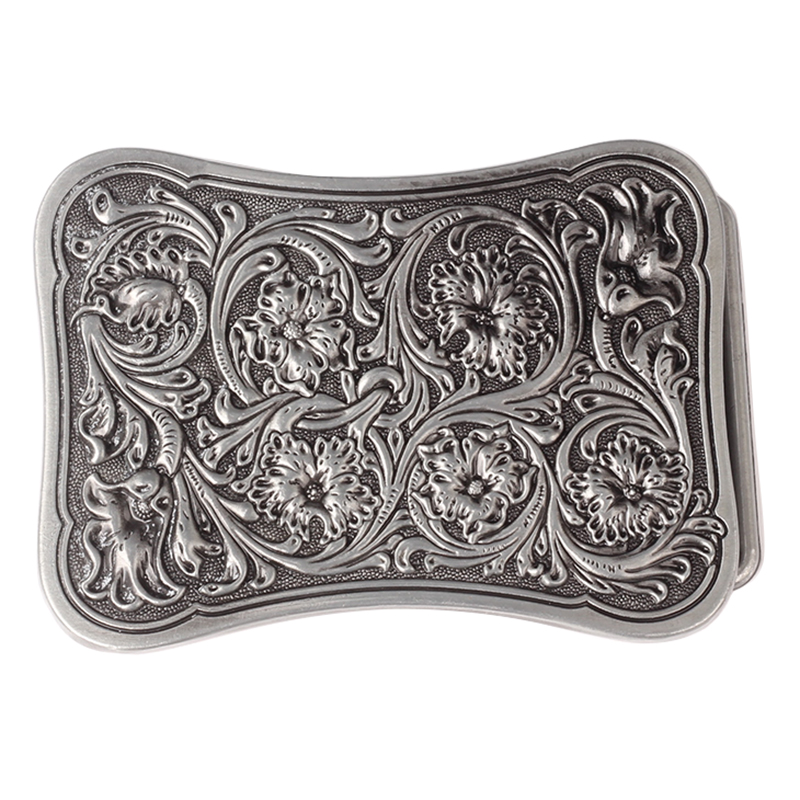 Square Tang Grass Belt Buckle
