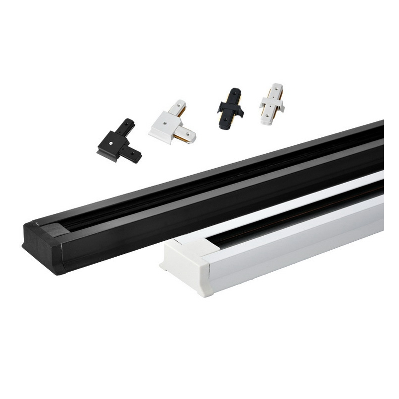 Different Types Of Track Lighting Fixtures To Install: LED Track Lighting Rail 0.5m Track Spotlight Light Track