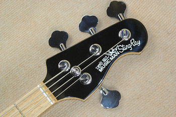 Ernie Ball Bass | Top Quality  Black Music Man Ernie Ball Sting Ray 4 String Electric Bass Guitar Free Shipping