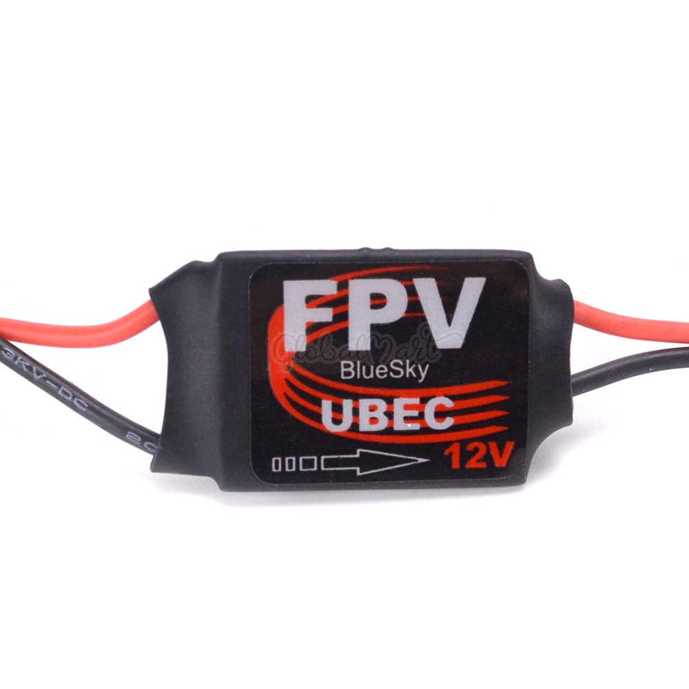 1 pces 3a DC-DC conversor step down módulo ubec 3a 5 v/12 v bec mini bec para rc avião quadcopter câmeras cardan sem escova