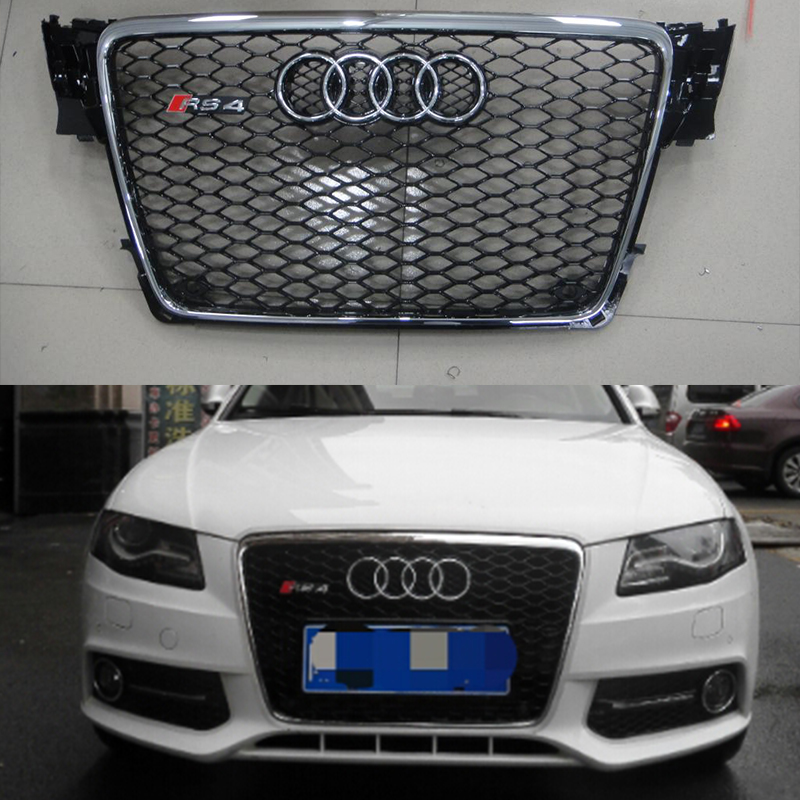 popular audi a4 b8 black grille buy cheap audi a4 b8 black. Black Bedroom Furniture Sets. Home Design Ideas