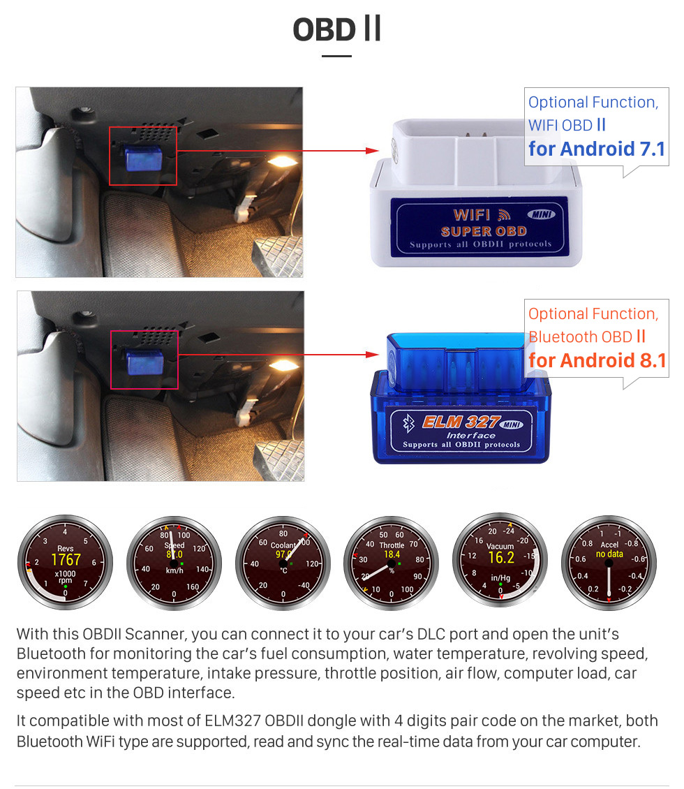 Sale Seicane 9 Inch 2din 8-core Android 8.1 Car Radio GPS Multimedia Player For 2015 Subaru Forester support Steering Wheel Control 15