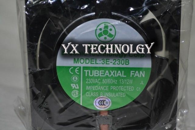 Brand new original high temperature axial-flow fan oven 3E-230B 230V inverter fan 80*80*38mm original brand new 3612kl 05w b50 9032 24v 0 32a 9cm two wire inverter fan
