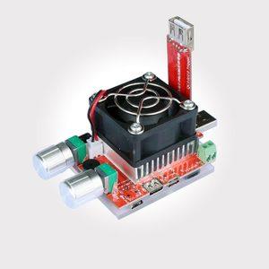 Image 4 - 35 W constante dubbele verstelbare elektronische belasting + QC2.0/3.0 triggers quick voltage usb tester voltmeter aging ontlading