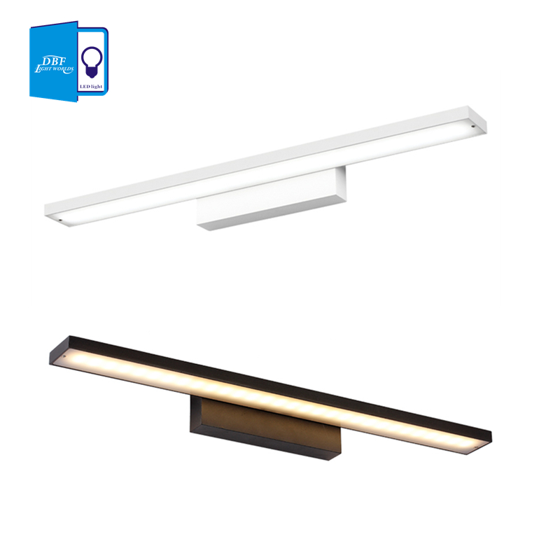 [DBF]8w 12w 16w 24w LED Mirror Wall Lamp Bathroom Lights 90-260V aluminum Sconces Indoor Lighting 40cm/60cm/80/cm100cm 40cm 12w acryl aluminum led wall lamp mirror light for bathroom aisle living room waterproof anti fog mirror lamps 2131