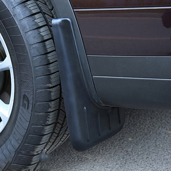 (Only Fit European Car Model) Exterior Mudflaps Mud Flap Splash Guard Mudguards Protector 4pcs For Porsche Cayenne 2018 2019
