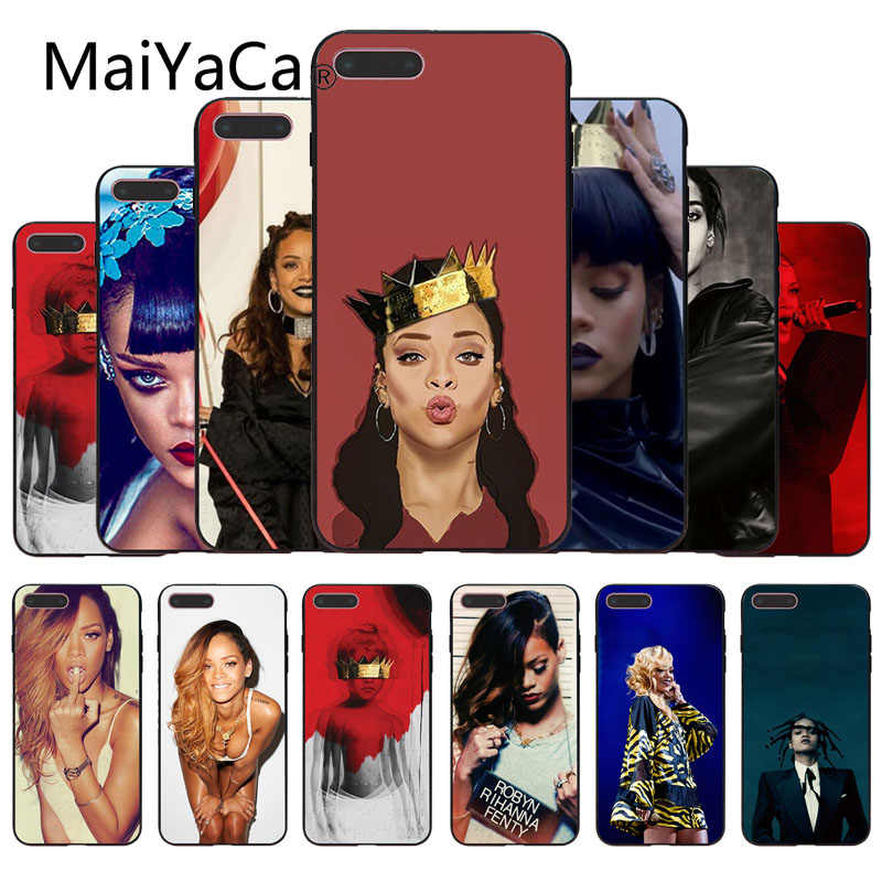 MaiYaCa Rihanna Anti Work Drake Soft Top Detailed Popular Phone Case Cover For iphone 6 6s 6plus 6S plus 7 7plus 8 8plus 5 5s