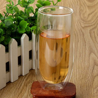 150ml Heat Resistance Double Wall Glass Cup Double Layer Glass Kungfu Tea Cup Coffee Milk Juice