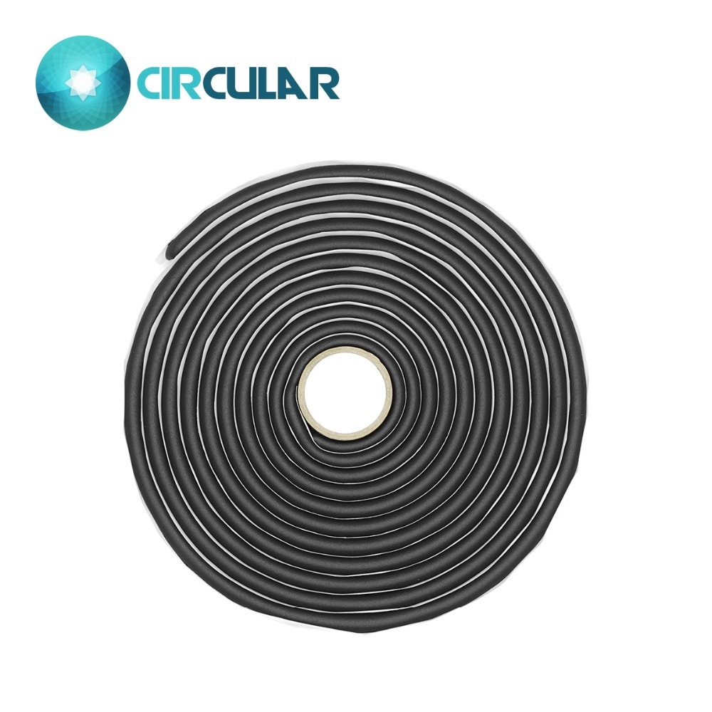 Car Lights Radient 3roll Black Snake Butyl Synthetic Rubber Glue Auto Headlight Taillight Retrofit Speaker Windscreen Adhesive Sealant 9.5mm*4m Convenience Goods