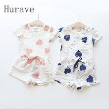 Комплект одежды для девочек Hurave 2