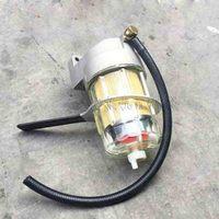 Acessórios escavadeira KOBELCO SK130/200/260/330/350-8 ultra-óleo-água 8 elemento do filtro separador de montagem