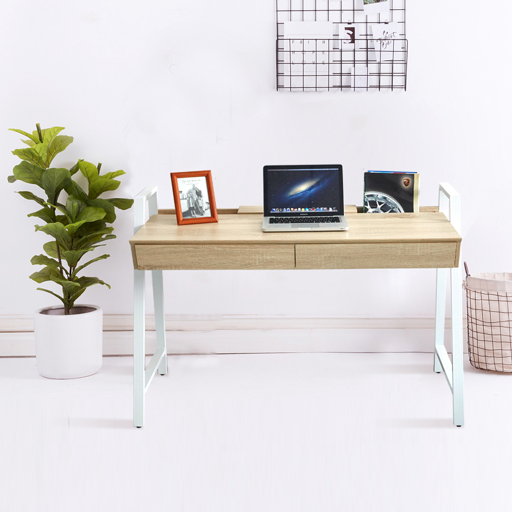 Office Computer Table Office Desk with Drawer Workstation for Home Office Use Writing Desk