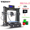High Quality Prusa I3 Open Build Aluminium Frame 3D Printer DIY KIT Heated Bed Printing Gift