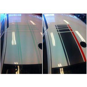 Image 4 - Film demballage en vinyle de voiture, 5M, ruban de coupe sans couteaux pour voiture, ligne Design, autocollants de voiture, outils de découpe, accessoires automobiles