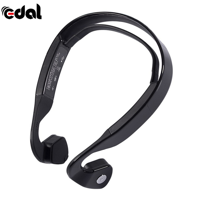EDAL 2017 Wireless Bluetooth 4.0 Bone Conduction Wireless Stereo Headset Sports Headphone For Running