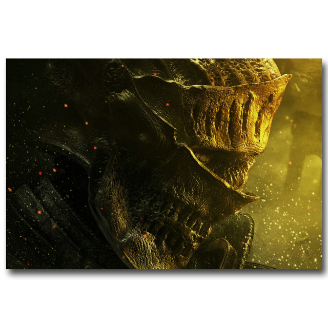 Шелковый Плакат гобелен Dark Souls в ассортименте