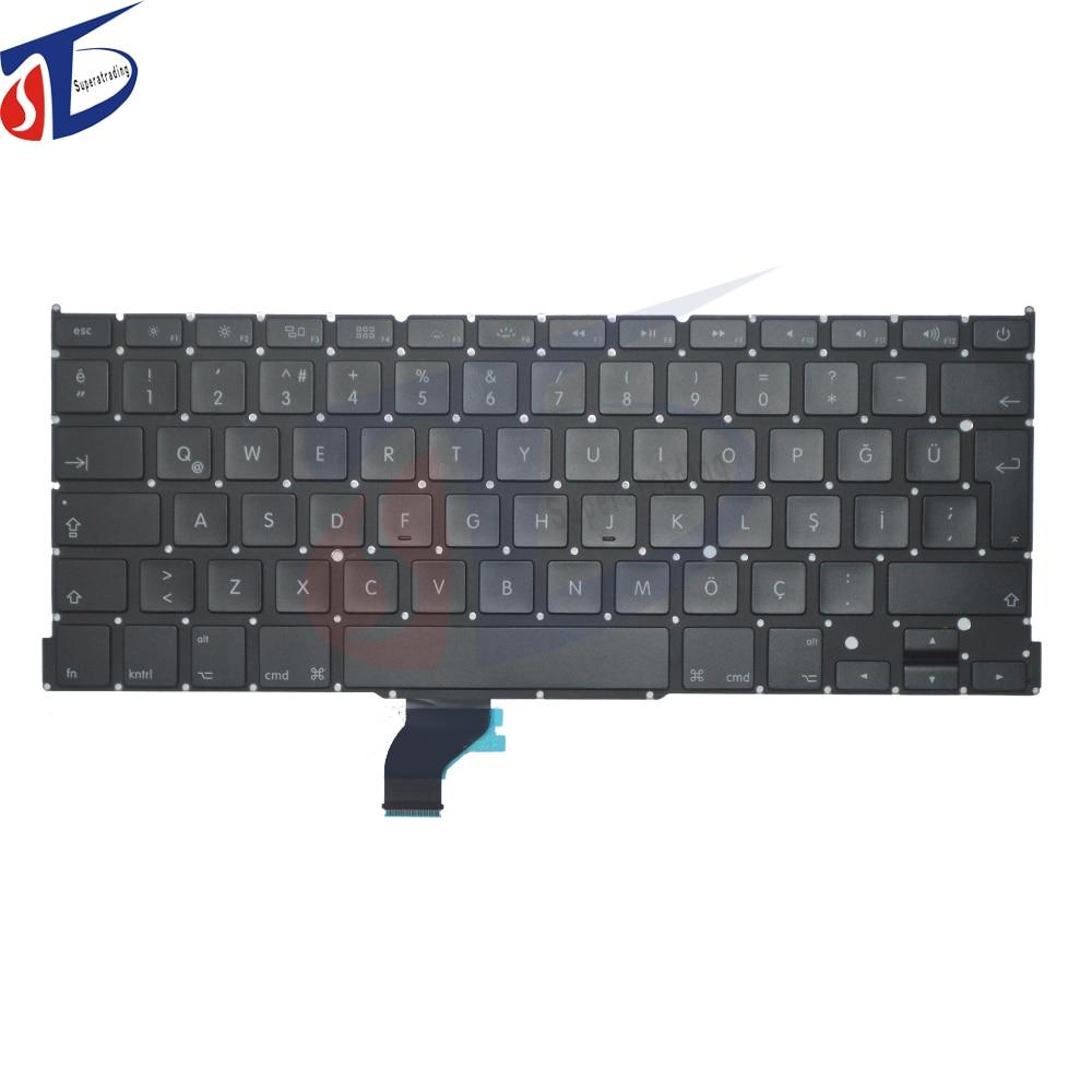 New TR Turkey keyboard for font b Macbook b font Pro Retina 13 A1502 Turquie Turkish