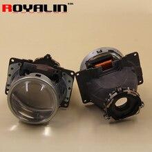 ROYALIN For Koito Q5 Bi xenon Metal Projector Headlight 3 inch for D1S D2S D3S D4S