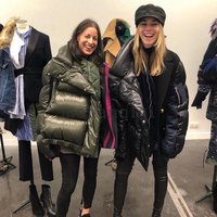 2019 Winter Parka New fashion women patchwork warm jacket coat 2 color Duck Down Jacket Women Winter Outerwear Coats