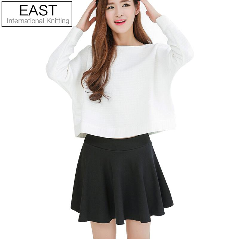 east knitting 2015 new women fashion short mini skirts